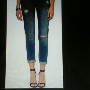 DL 1961 Azelea Relaxed skinny jeans size 29